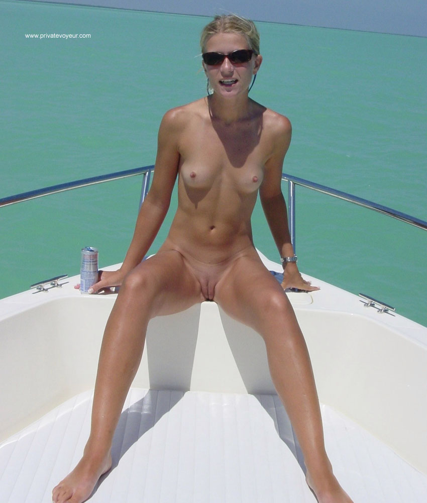 Girl naked on boat ride charming answer
