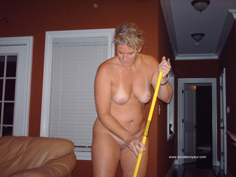 nude house cleaners