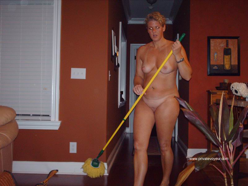 Cleaning The House Naked 110